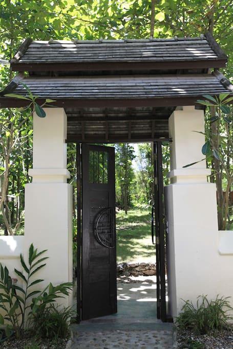 Entrance Pool Villa One Bedroom