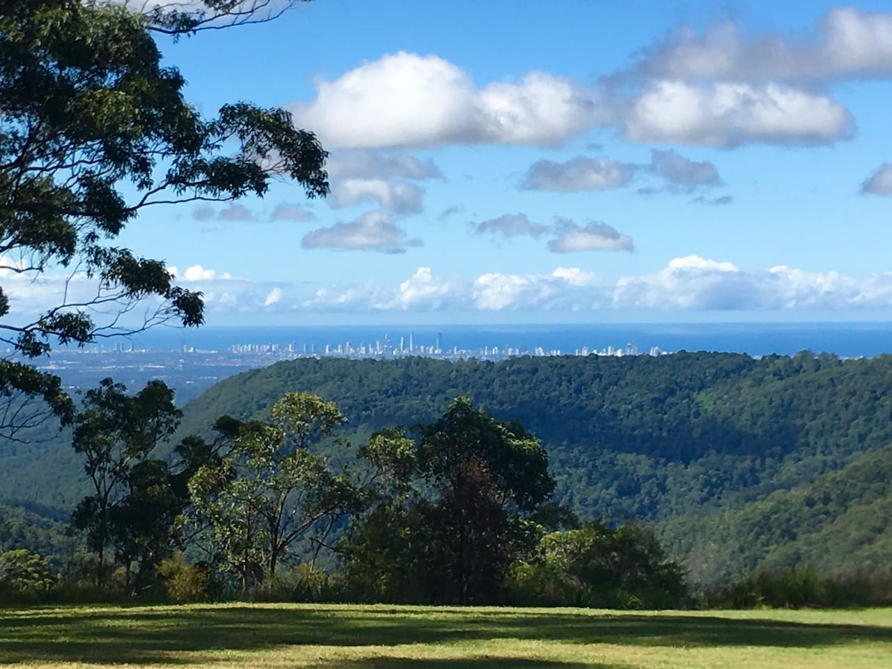 View of the Gold Coast from the house.