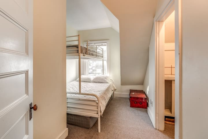 Bedroom six on upper level  with full/twin bunk beds