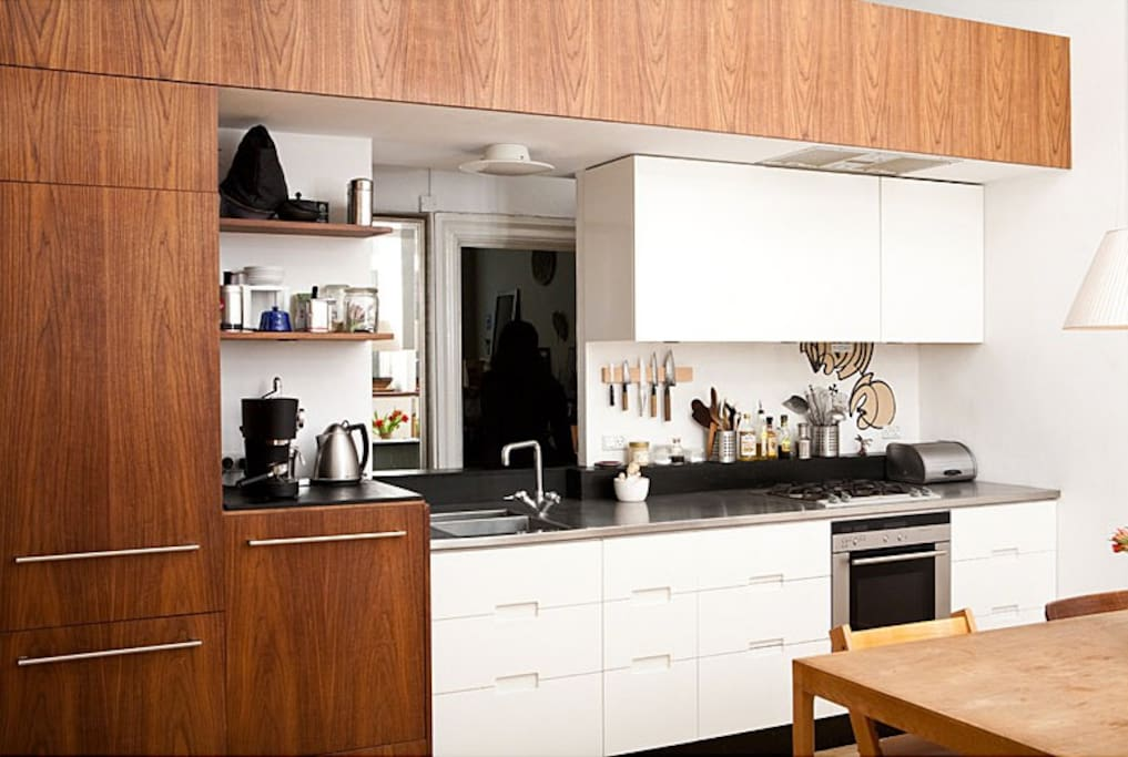 Architect-designed kitchen