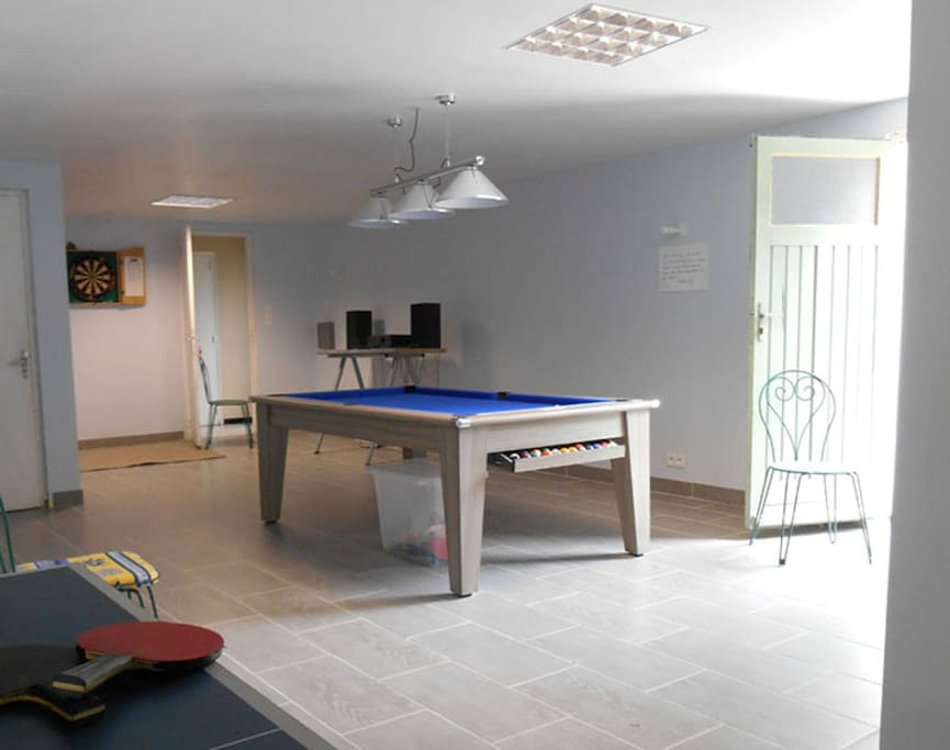Large, well equipped Games Room
