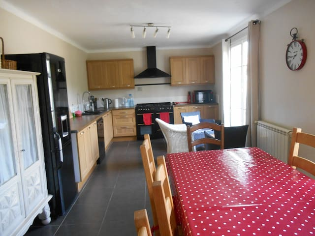 Large independent villa, Games Room and bike hire - Rouvenac - 別荘