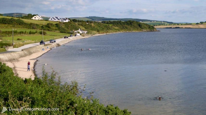 Millbay beach, Inch