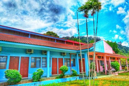 Funky Hostel @TamanNegara Pahang.