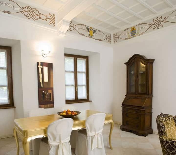Apartment int. A2 at Villa Scati