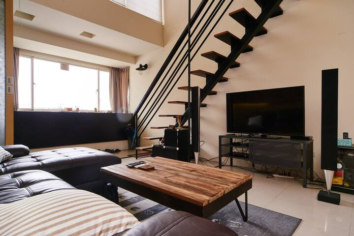 Loft and Cozy home in TPE - 中和區 - Bed & Breakfast