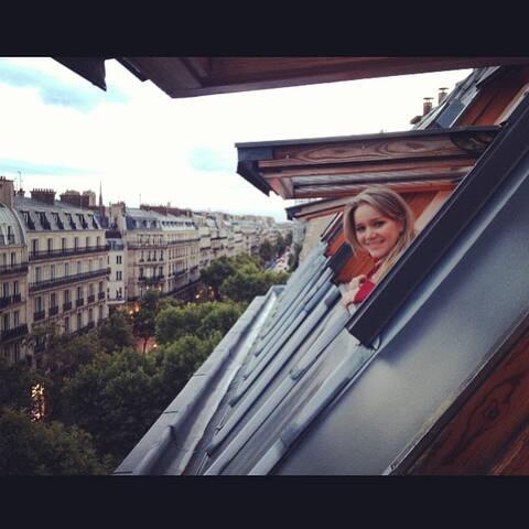 Studio on top of Paris' heart