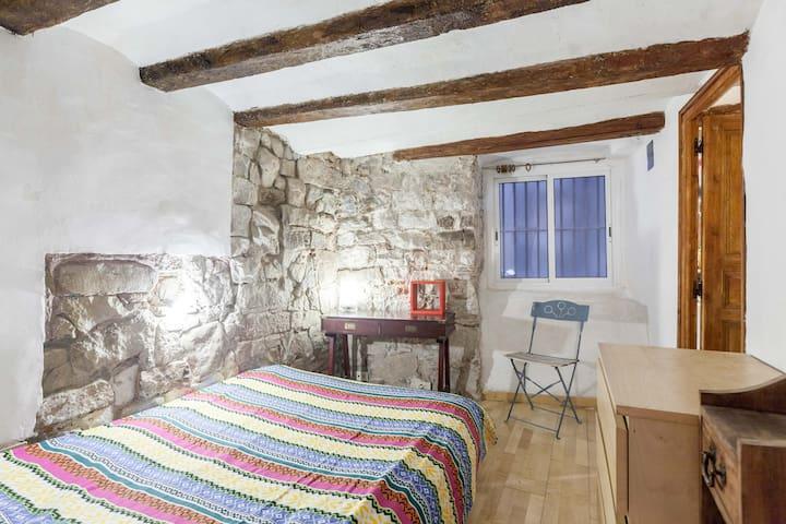 Room+ bathroom, typical Gotico!! - Barcelona - Casa