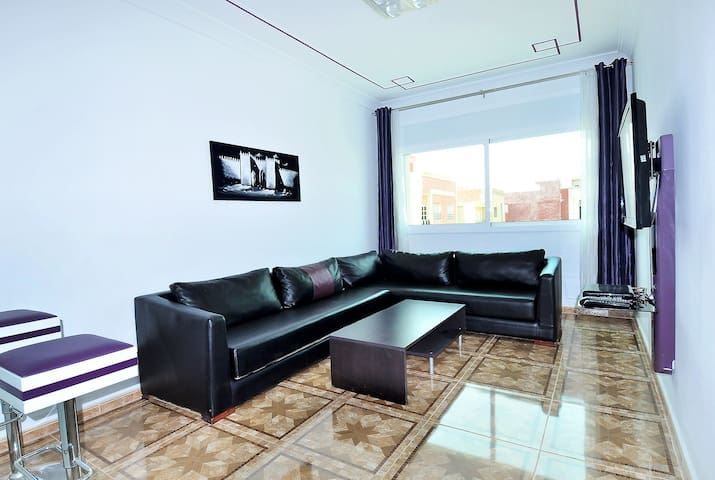 Appartement A3, 2 chambres climatisé WIFI