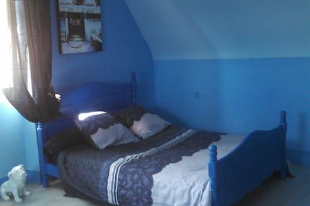 Chambre Bleue - Vailly-sur-Aisne