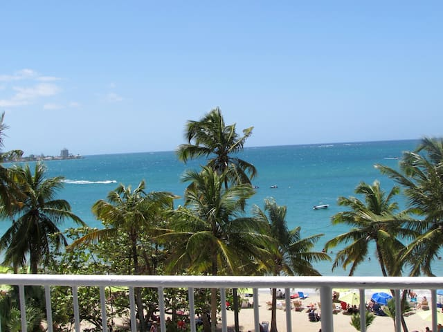 BEACHFRONT Isla Verde apartment - Carolina - Wohnung