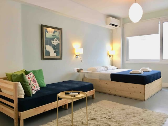 Athens Urban Surfer's Cozy Syntagma studio