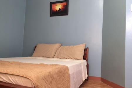 Light blue room cost $20 good for 2 persons