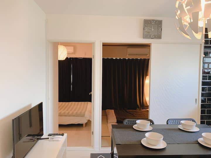 A204☆USJ/full rent/2min to station/5PAX/WiFi/702