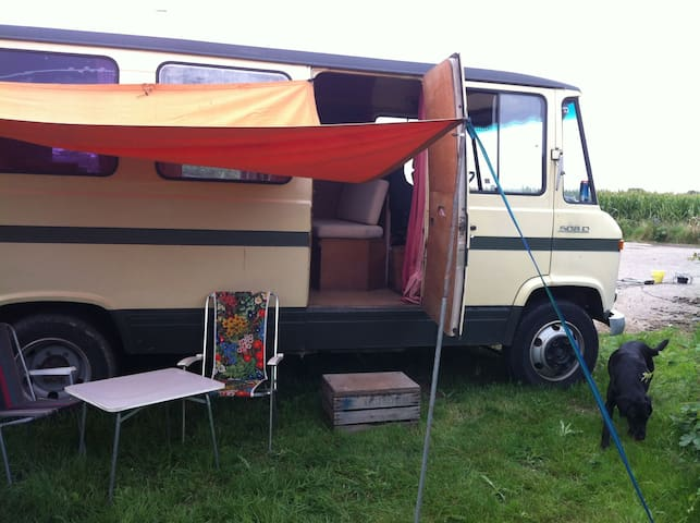 Seventies camper in the Betuwe - Rumpt - Autocaravana