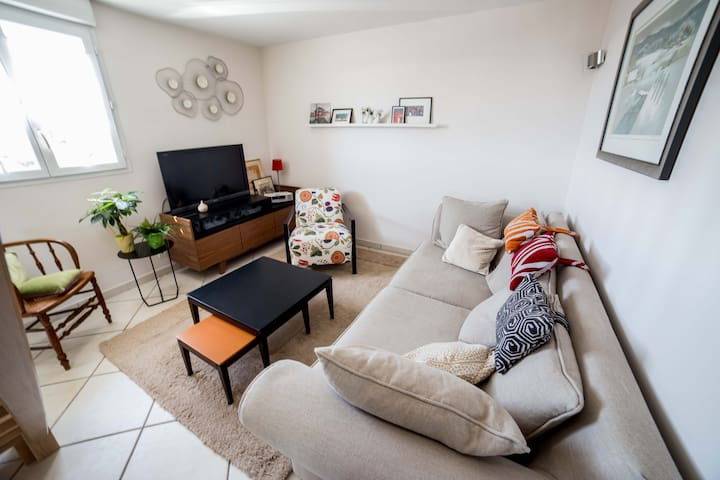 confortable duplex contemporain - Champagnole