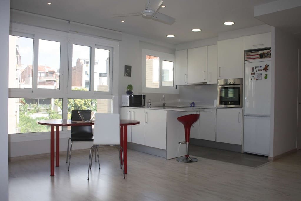 Nice modern house in gracia flats for rent in barcelona - Nice home barcelona ...