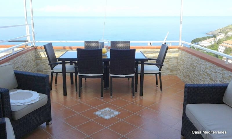 Appartamento vista mare a Scalea - Scalea - Huoneisto