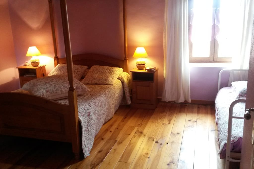 Chambre Rose Ancienne