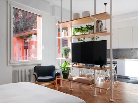 Central Studio - Nowe, minimalne i zielone.