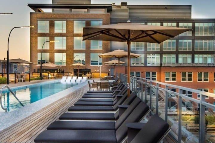 Luxurious private room next to Union Station - Waszyngton - Apartament
