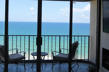 A panaramic view of the ocean to unwind and relax - Appartement en résidence