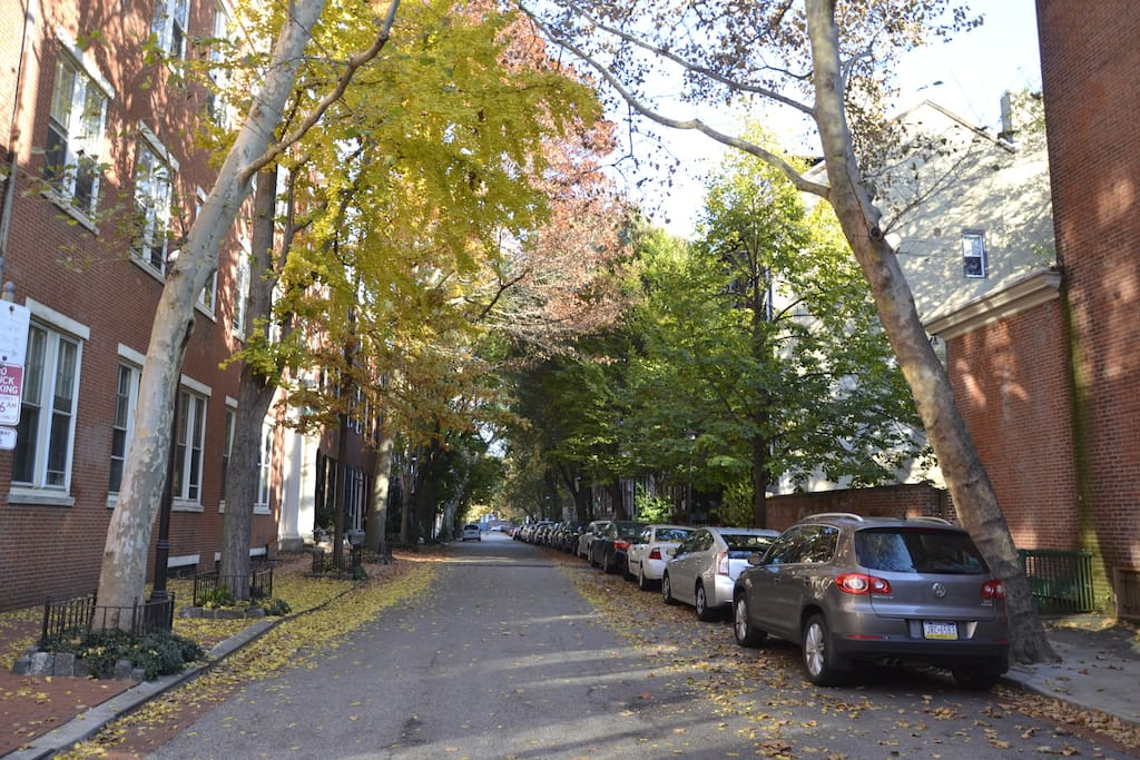 Clinton Street on the North Side of House