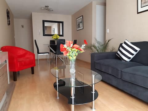 Modern apartment ideal for long stays!