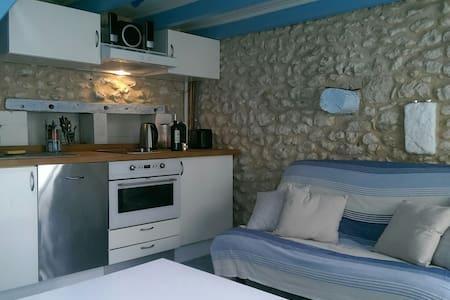 La petite maison bleue... - Mortagne-sur-Gironde