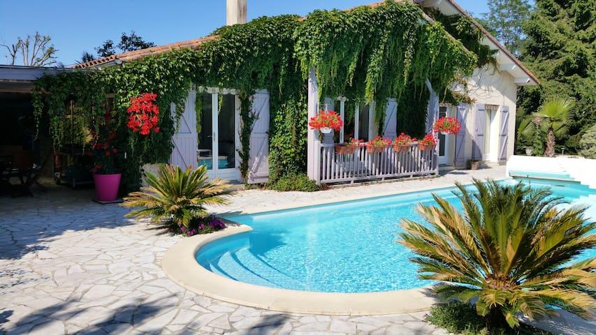Maison piscine  6 p Saubion-Hossegor-Seignosse