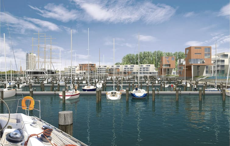 Holiday apartment with 2 bedrooms on 65m² in Travemünde Waterfront