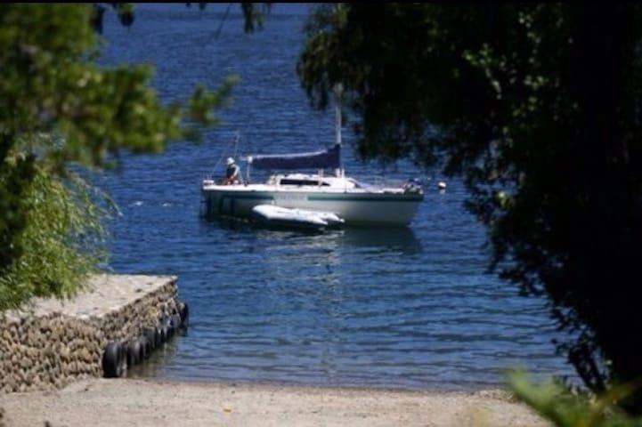 Caburga, maravilla+playa y muelle - Caburga - Hus