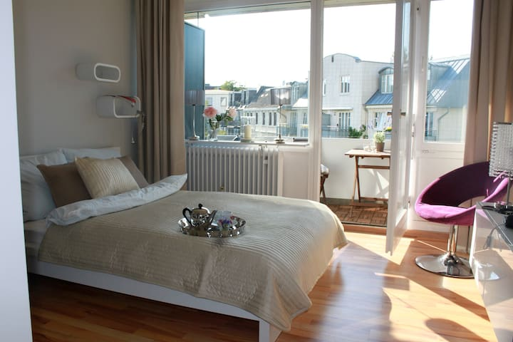 City Apartment next to the Alster - Hambourg - Appartement