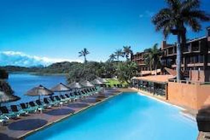 San Lameer Estate Hotel. Guests have access to all the amenities