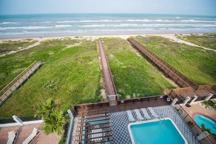 5 BEDROOM BEACHFRONT CONDO - 2nd Floor
