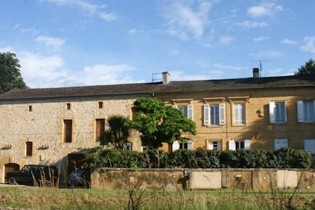 Large Traditional French Farmhouse - Lalinde - House