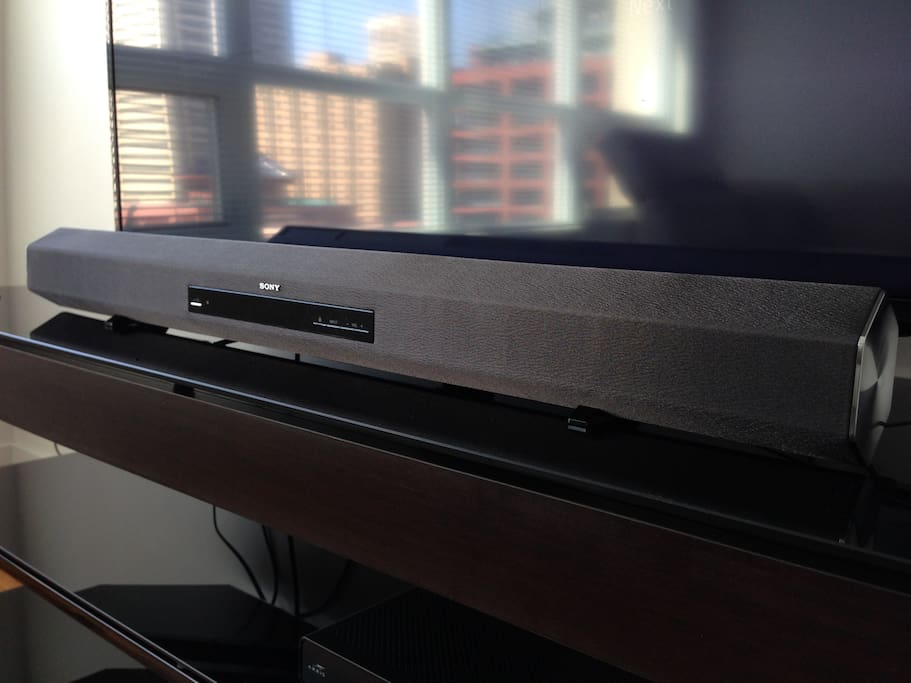 Sony Sound bar with bluetooth capability