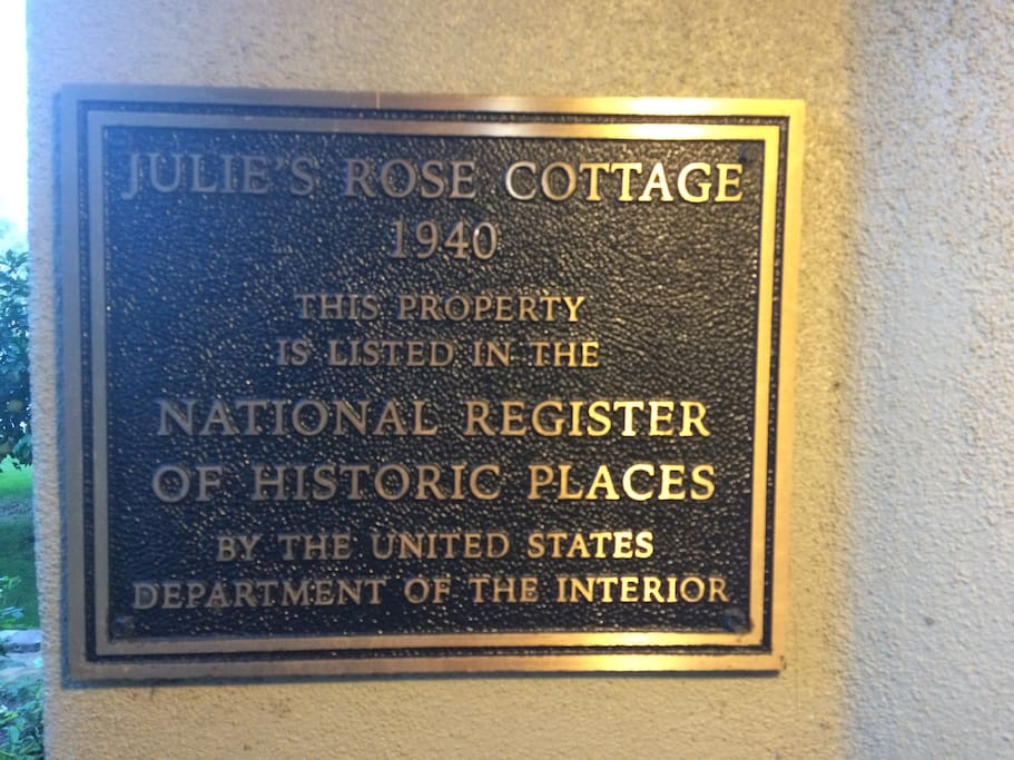 Listed on the Nation's Register of Historic Places