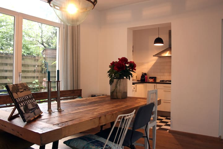 beautiful apartment with garden near Jordaan - Amsterdam - Apartment