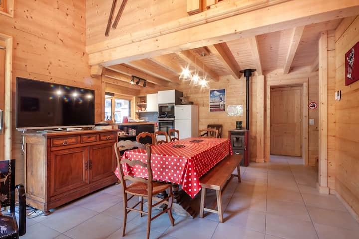 Beautiful new chalet in the center
