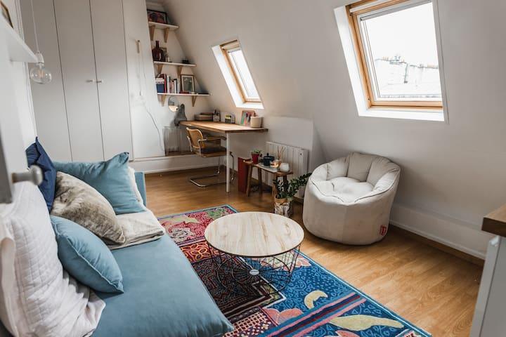 Superbe appartement près du canal Saint-Martin