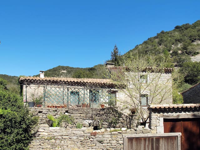Holiday home in Rochecolombe for 4 persons