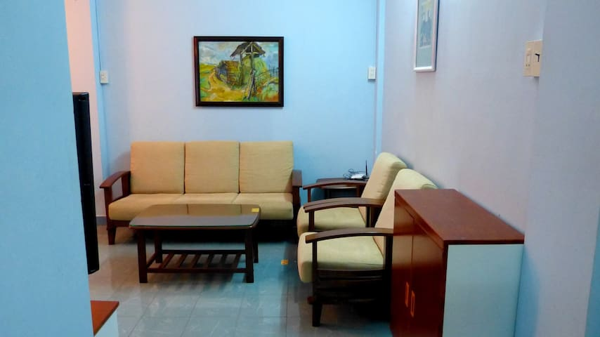 Breezy 2 bedroom in city center - tp. Nha Trang - Daire