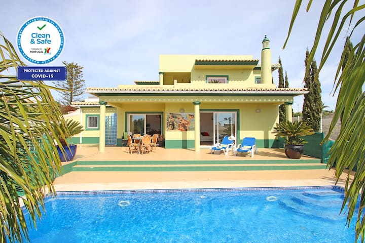 WONDERFUL VILLA PRIVATE HEATABLE  POOL, FREE WIFI,