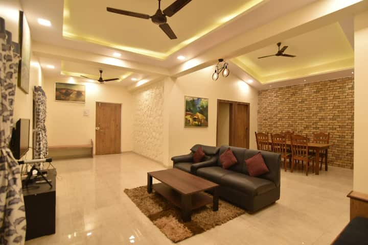 EKOSTAY | Scenic 2BHK Private Pool Villa (Deltin)