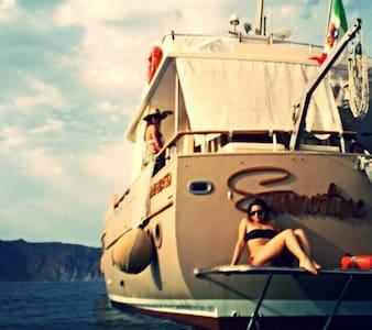 Yacht d'epoca ad Ortigia... - Siracusa - Boat