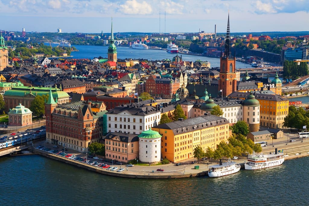 Stockholm the capital of Scandinavia, also called Beauty on Water.