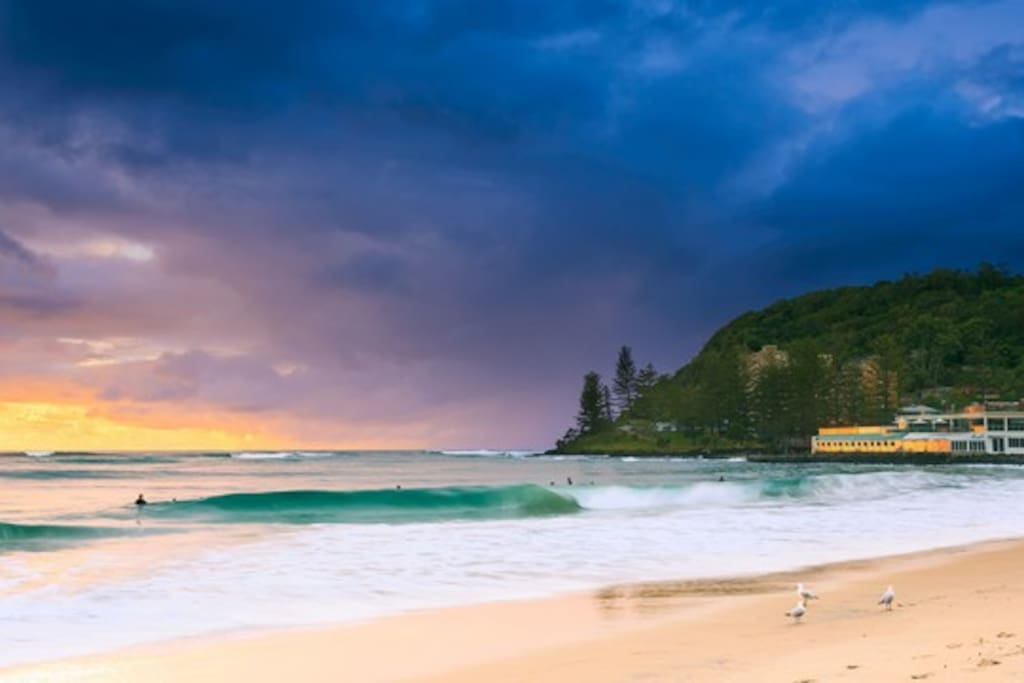Burleigh Heads excellent at anytime of the day!