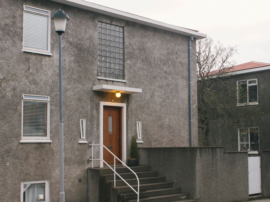 The house was built in 1936. A fine example of Icelandic Modernist architecture