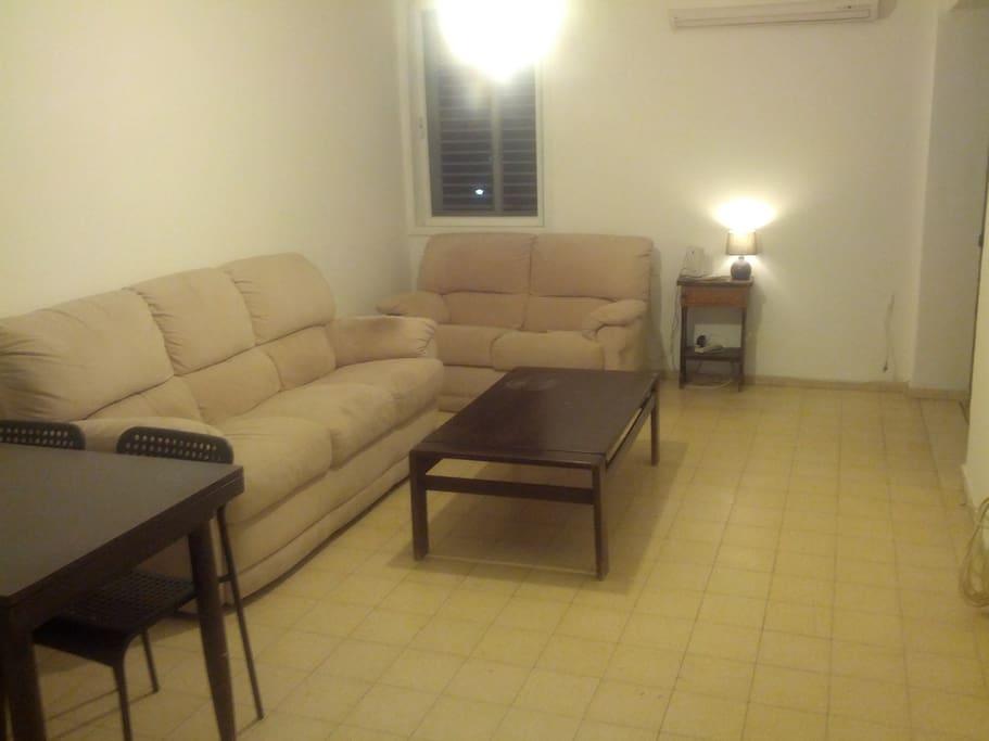 large living room, suitable for hosting friends